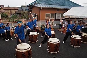 和太鼓演奏、フォークダンス02